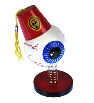 Eyeball Dashboard Wiggler in a Fez Thumbnail 1