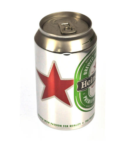 Branded Can of Beer Stash Tin