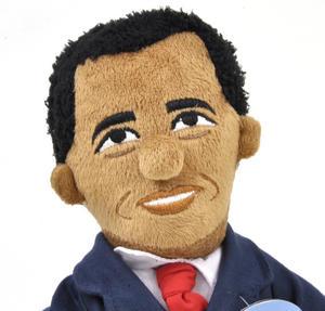 Barack Obama Soft Toy  -  Little Thinkers Doll Thumbnail 1