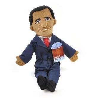 Barack Obama Soft Toy  -  Little Thinkers Doll Thumbnail 4