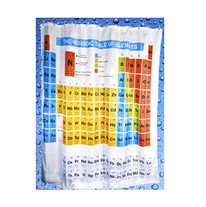 Periodic Table Shower Curtain Thumbnail 2