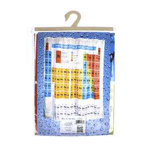 Periodic Table Shower Curtain Thumbnail 3