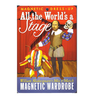 William Shakespeare All the World's a Stage - Magnetic Dress Up Wardrobe Thumbnail 2
