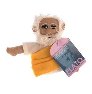 Plato Finger Puppet & Fridge Magnet Thumbnail 1