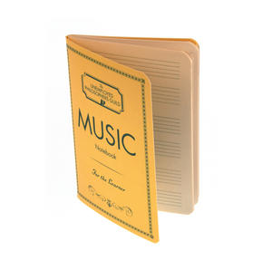 Composers Music Notebook with Sheet Music Pages Thumbnail 2