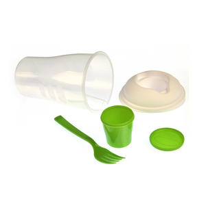 Salad to Go - All in One Salad and Dressing Container with Built in Fork Thumbnail 4