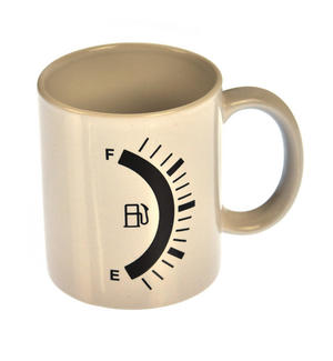 Fuel Gauge Heat Change Mug Thumbnail 3