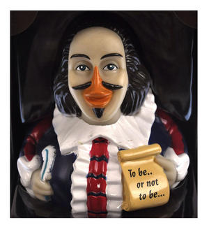 Shakespeare Rubber Duck - Celebriduck Thumbnail 1