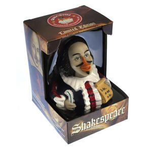 Shakespeare Rubber Duck - Celebriduck Thumbnail 2