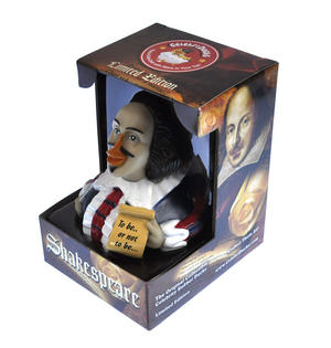 Shakespeare Rubber Duck - Celebriduck Thumbnail 3