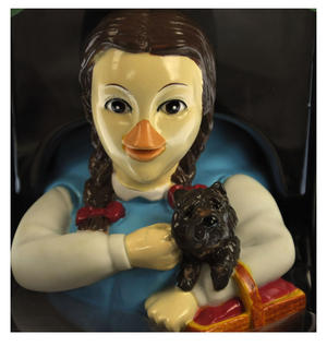 Dorothy - Wizard of Oz Rubber Duck - Celebriduck Thumbnail 1