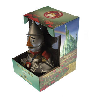 Tin Woodman - Wizard of Oz Rubber Duck - Celebriduck Thumbnail 3