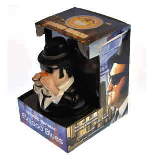 Elwood Blues Brother Rubber Duck - Celebriduck Thumbnail 2