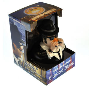 Elwood Blues Brother Rubber Duck - Celebriduck Thumbnail 3