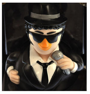 Jake Blues Brother Rubber Duck - Celebriduck Thumbnail 1