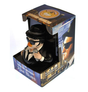 Jake Blues Brother Rubber Duck - Celebriduck Thumbnail 2