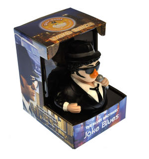 Jake Blues Brother Rubber Duck - Celebriduck Thumbnail 3