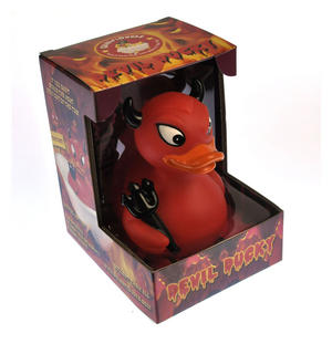Devil Ducky Rubber Duck - Celebriduck Thumbnail 2