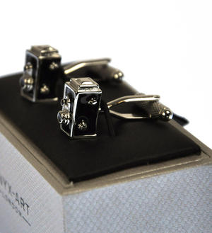 Cufflinks - Rolleiflex Camera Thumbnail 2
