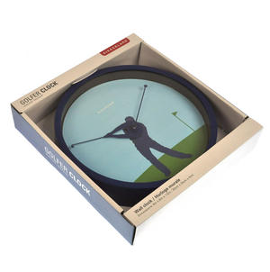 Golfer Wall Clock Thumbnail 3