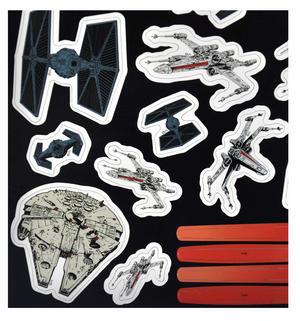 Star Wars - Lazer Battle Fridge Magnet Set Thumbnail 3