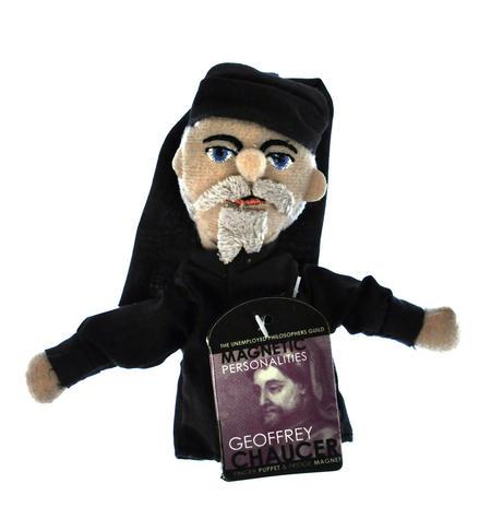 Geoffrey Chaucer Finger Puppet & Fridge Magnet
