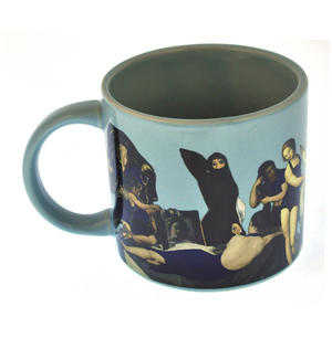 Great Nudes of Art Disrobing Heat Change Mug Thumbnail 3