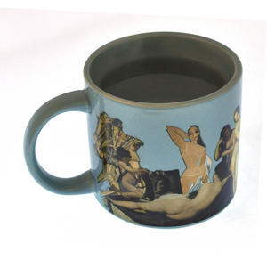 Great Nudes of Art Disrobing Heat Change Mug Thumbnail 6