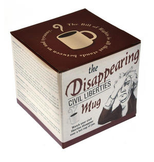 Disappearing Civil Liberties Heat Change Mug Thumbnail 6