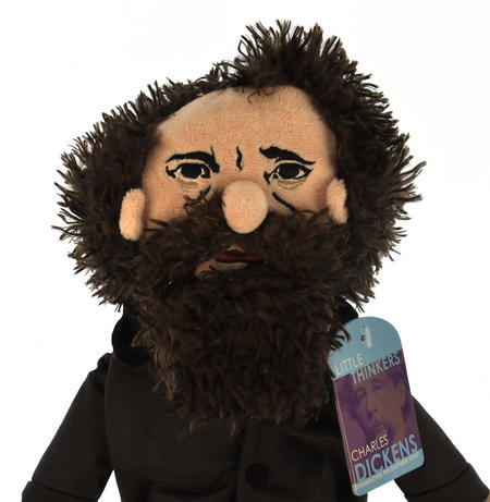 Charles Dickens Soft Toy - Little Thinkers Doll