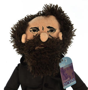 Charles Dickens Soft Toy - Little Thinkers Doll Thumbnail 1