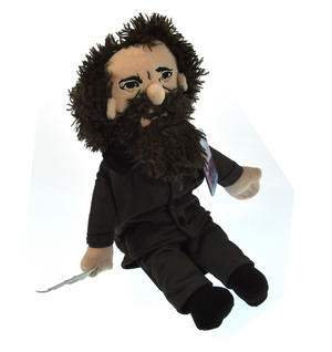 Charles Dickens Soft Toy - Little Thinkers Doll Thumbnail 2
