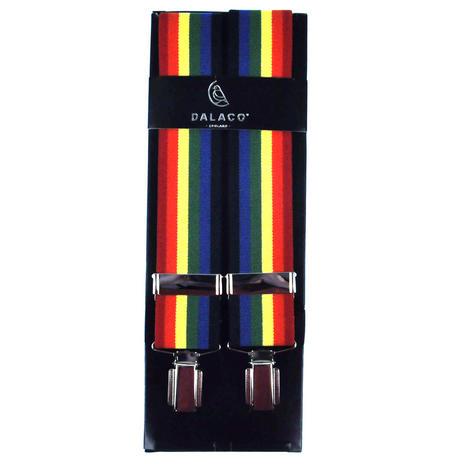 Rainbow Trouser Braces - Suspenders