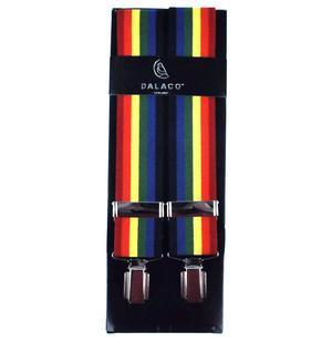 Rainbow Trouser Braces - Suspenders Thumbnail 1
