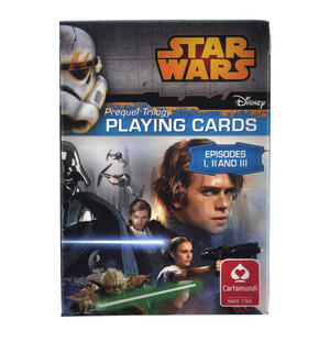 Star Wars - Prequel Trilogy Playing Cards - Episodes I, II and III Thumbnail 1