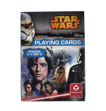 Star Wars - Classic Trilogy Playing Cards - Episodes IV, V and VI