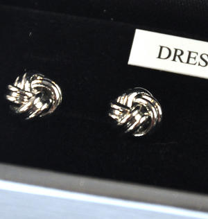 Cufflinks - Celtic Knot Dress Studs Thumbnail 2
