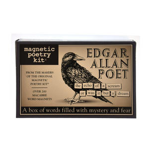 Edgar Allan Poe - Fridge Magnet Set - Edgar Allan Poetry Thumbnail 2