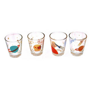 Cosmonauts - 4 Shot Glass Cosmos Set Thumbnail 1