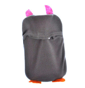 Grey Dotty Owl - Hot Water Bottle - 1 Litre / 35 fl oz Thumbnail 3