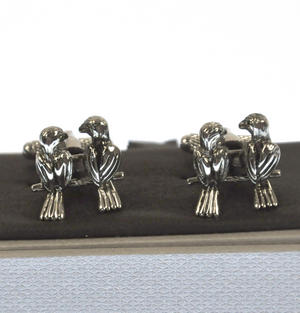 Cufflinks - Lovebirds Thumbnail 2