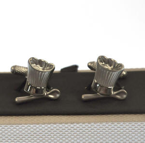 Cufflinks - Chef's Hat and Spoon Thumbnail 4