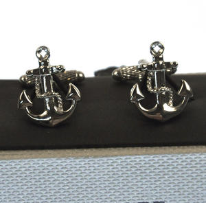 Cufflinks - Anchor and Rope Thumbnail 2