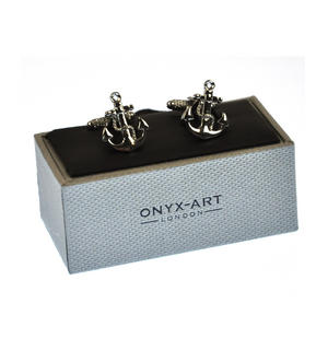 Cufflinks - Anchor and Rope Thumbnail 3
