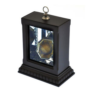 Harry Potter Replica Faux Horcrux Locket of Regulus Black with Display Case Thumbnail 1