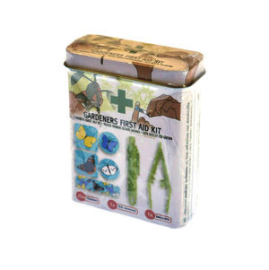 Gardeners First Aid Kit with Tick Remover, tweezers and  25 Plasters / Band Aids Thumbnail 2
