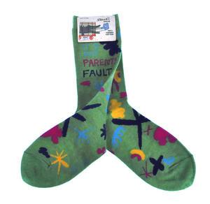 It's My Parents' Fault - Soft Combed Cotton Socks - Women's Crew Thumbnail 2