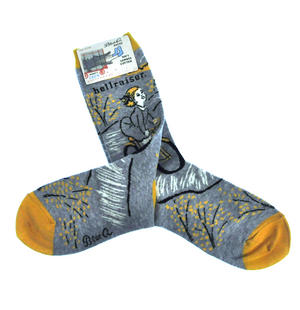 Hellraiser - Soft Combed Cotton Socks - Women's Crew Thumbnail 2