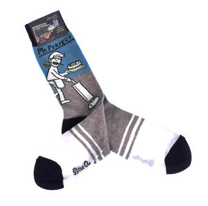 Mr. Perfect - Soft Combed Cotton Socks - Men's Crew Thumbnail 2