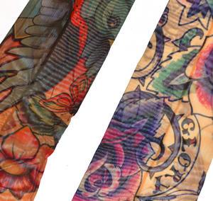 Girls' Tattoo Sleeves - Set of 2 -Random Designs Thumbnail 2